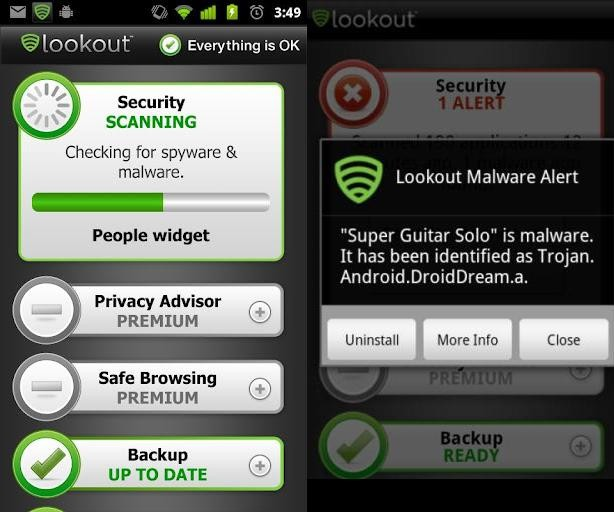 Lookout Security & Antivirus