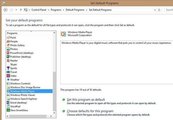 Hacer Windows Media Player El Reproductor De Audio