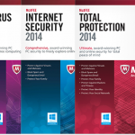 McAfee 2014 revela versiones de Antivirus Plus, Internet Security y Total Protection