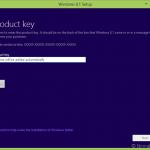 Descargas Windows 8.1 usando la clave del producto