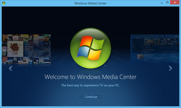 instalar y agregar Windows Media Center en Windows 8.1