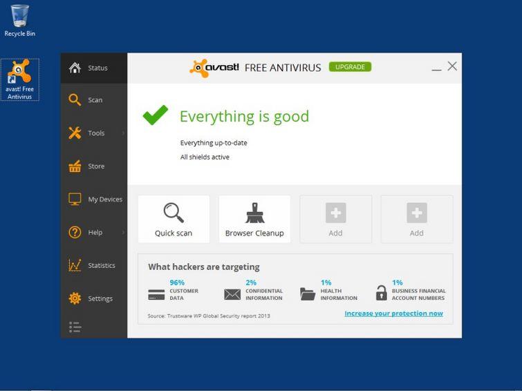 Avast! 2014 Free Antivirus