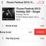 Cómo eliminar canciones de tu iPhone en iOS 7