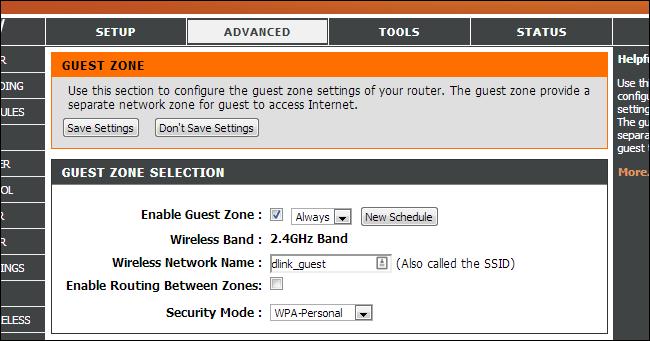 El Router inalámbrico de opción de aislamiento