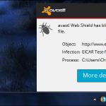 ¿Cómo se puede saber si un virus es en realidad un falso positivo