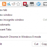 La Más Reciente Estructura De Chrome Trae Todo El SO Chrome A Windows 8