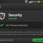 Lookout Security & Antivirus revision (2014): discreta Android security suite que pasos en el momento en que necesita