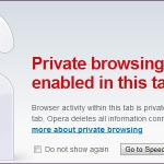 ¿Cómo funciona la navegación privada y por qué no ofrece completa privacidad?
