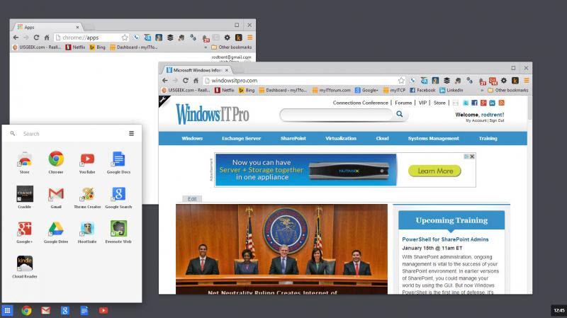 ChromeOS Para windows 8
