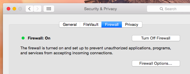 firewall de Ma