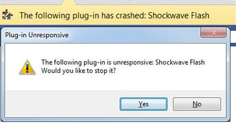 Shockwave Flash en Google Chrome