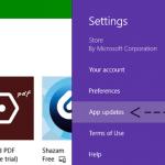 Cómo Desactivar la Descarga e Instalación Automática de la App Store en Windows 8 y posteriores?