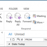 Cómo Deshacerte del Cuadro de Opciones de Pegado Outlook 2013