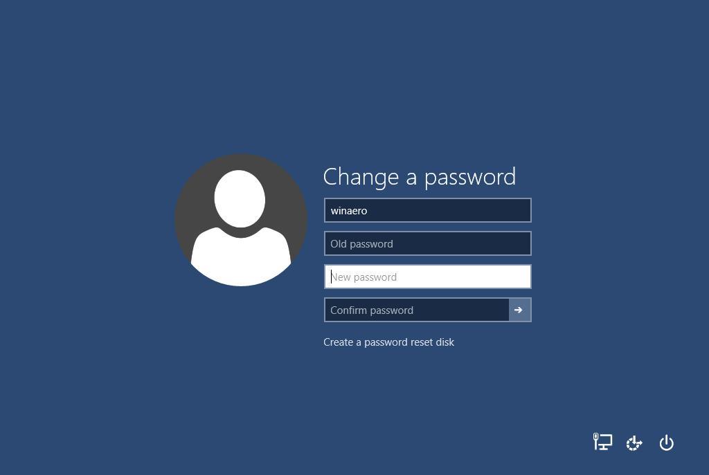 contraseña de usuario en Windows 10