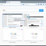 Cómo encajar más miniaturas en la página de nueva pestaña de Firefox