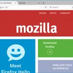 Directrices del diseño de Firefox para Windows 10 son reveladas por Mozilla