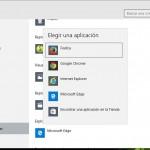 Cómo configurar Firefox/Chrome como el navegador predeterminado en Windows 10