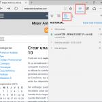Cómo ver y borrar el historial de navegación en Microsoft Edge