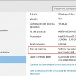 ¿Cómo saber si mi Windows 10 es de 32 o 64 bits?