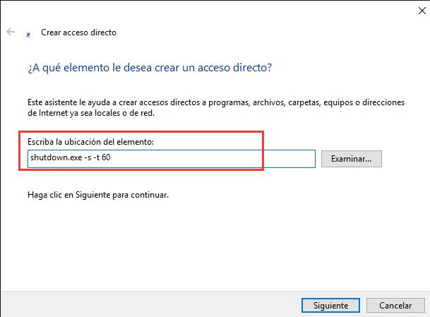 Apagar Windows 10