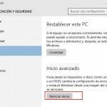Cómo Arrancar la Configuración de firmware UEFI BIOS desde Windows 10