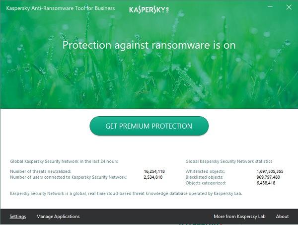 Kaspersky Anti-Ransomware Tool