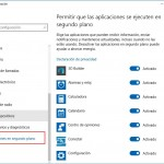 Cómo evitar que las aplicaciones de Windows 10 se ejecuten en segundo plano