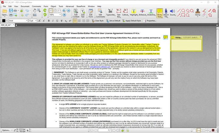 PDF-XChange Editor Lite