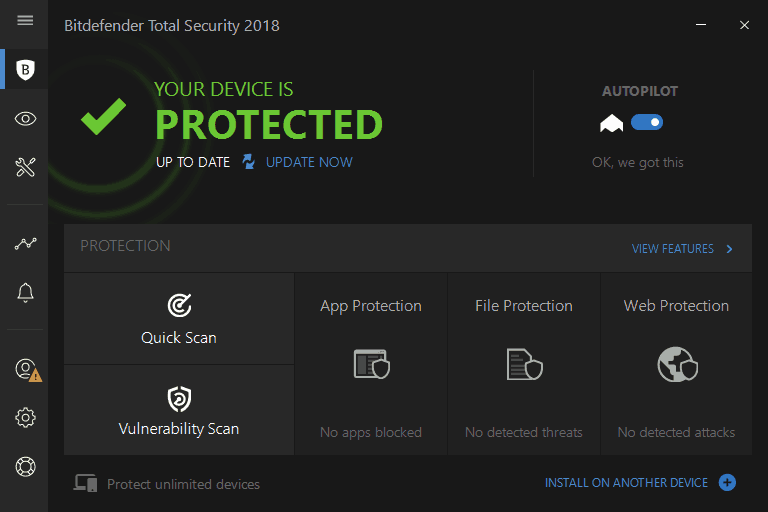 Bitdefender Total Security 2018