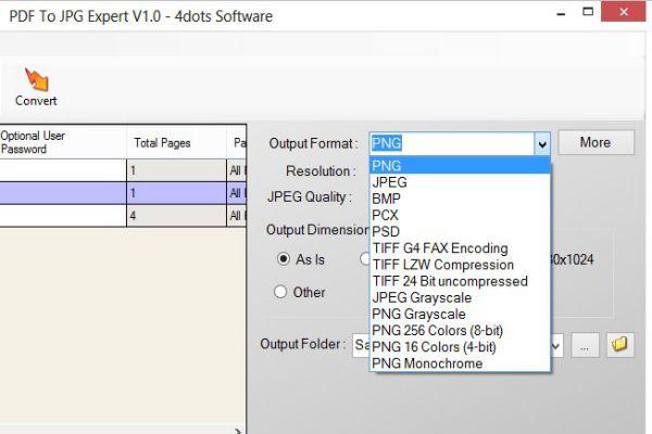 PDF to JPG Expert