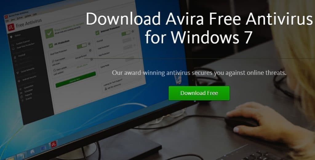 Avira Antivirus for Windows 7