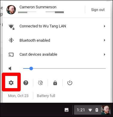 Chromebook VPN