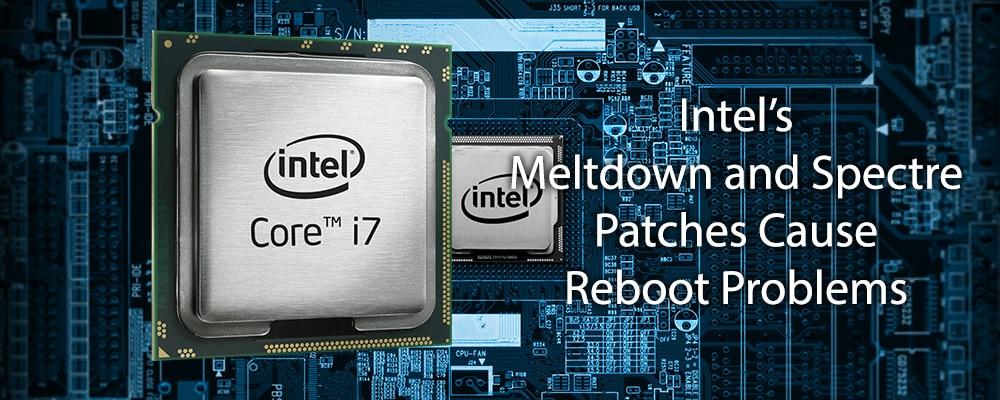 Intel para Meltdown y Spectre